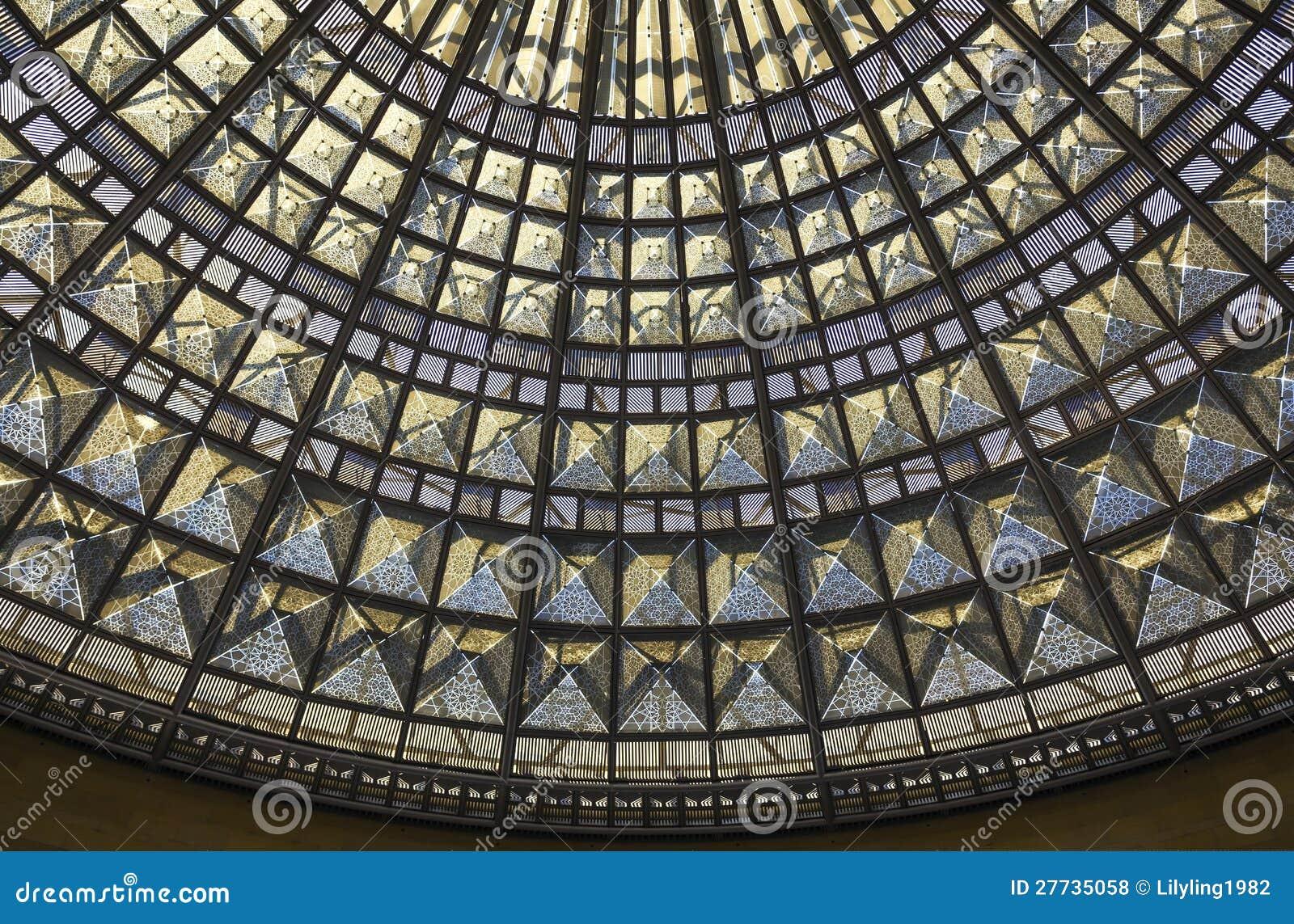 Dach der befleckten Gläser