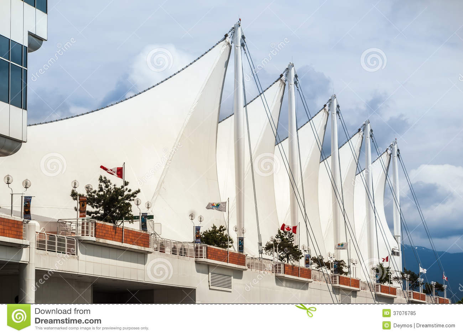 Download Dach Kanada Miejsce W Vancouver śródmieściu Obraz Editorial - Obraz złożonej z północ, niebo: 37076785