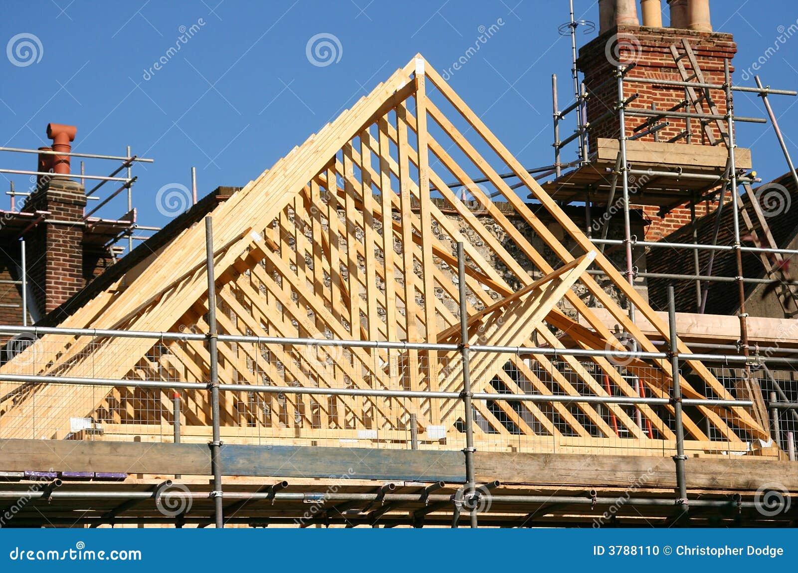 Dach ramowy drewna