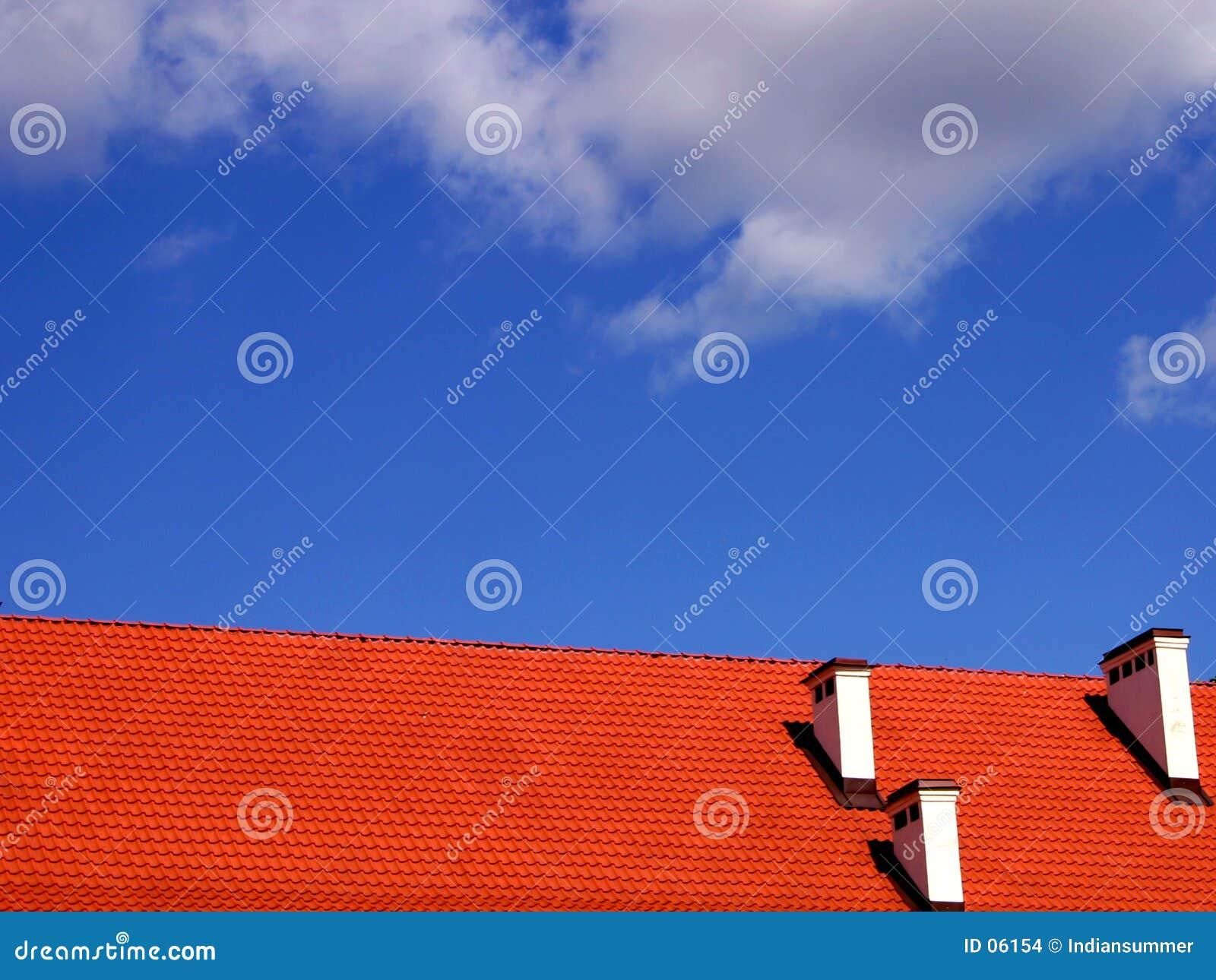 Dach und der Himmel
