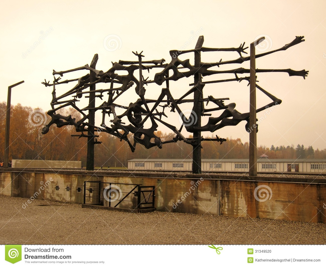 Dachau (sculpture)