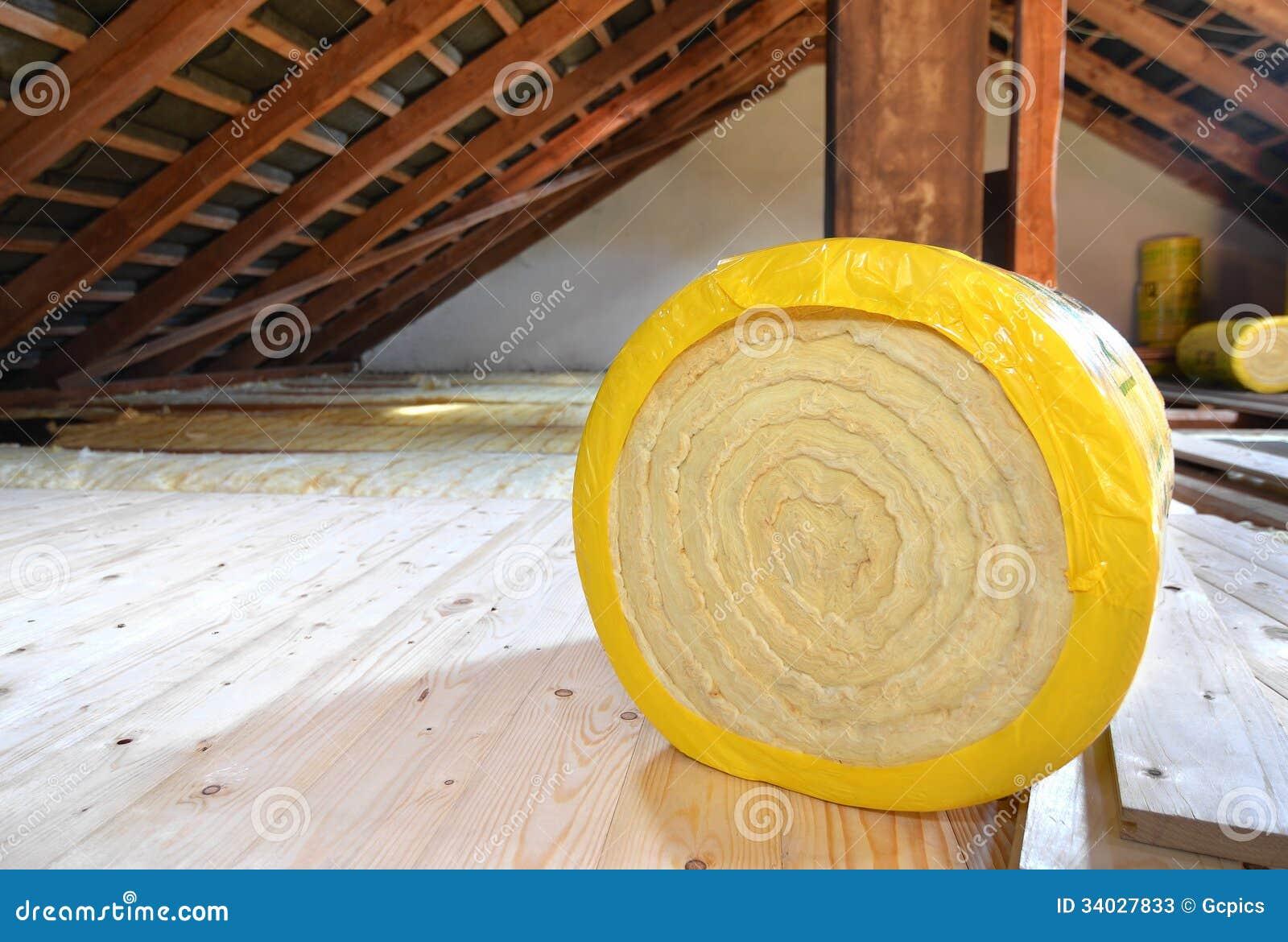 Dachboden-Isolierung
