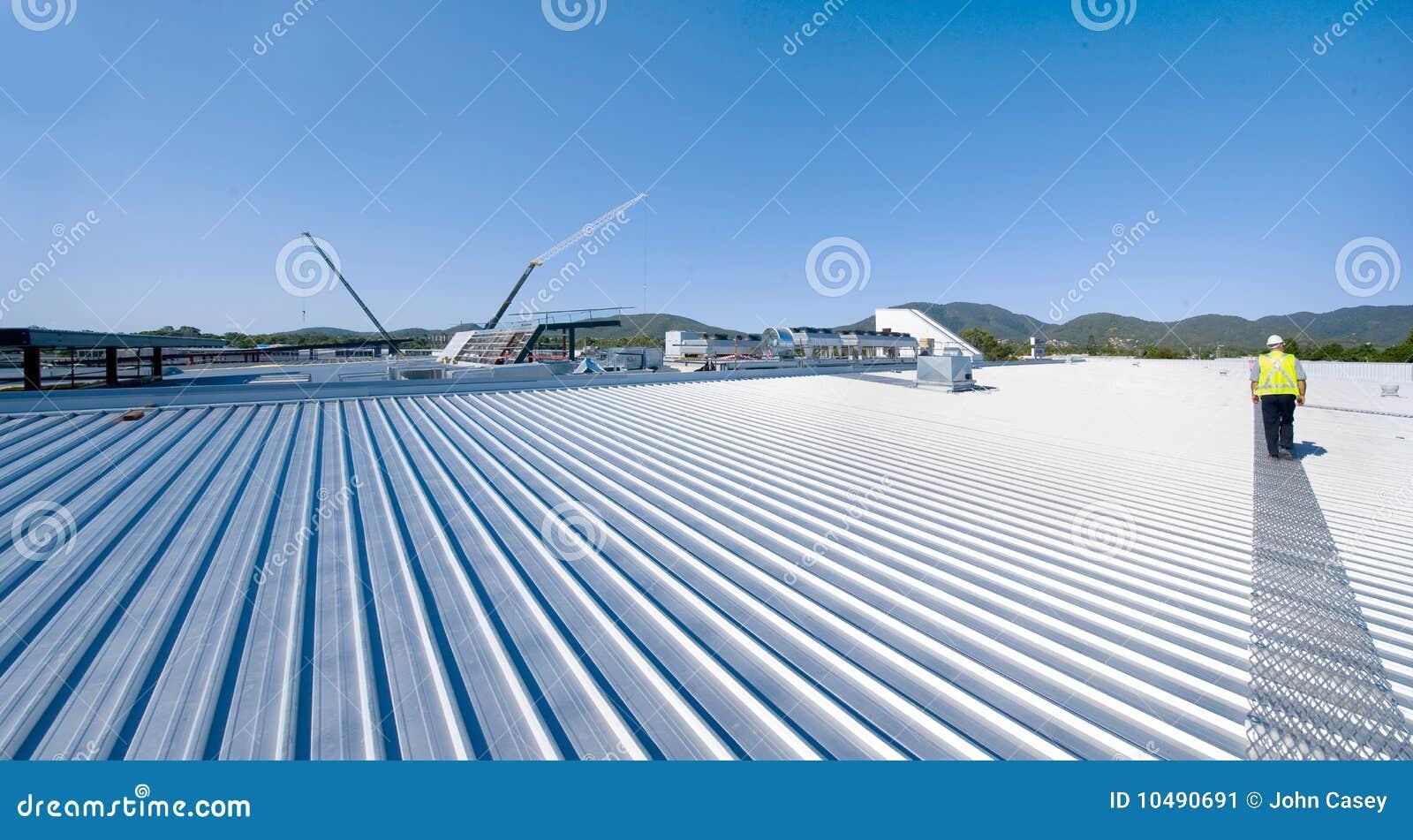 Dachmaterial Stockbild Bild Von Handler Reflexion Vermindern