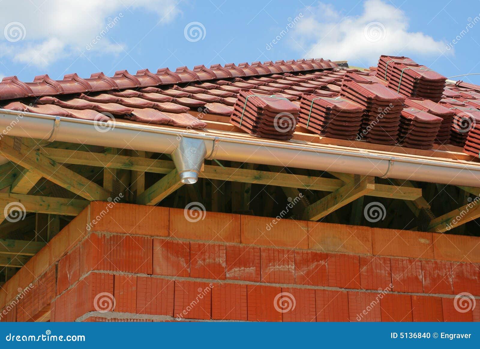 Dachmaterial Stockfoto Bild Von Eaves Projekt Arbeiten 5136840