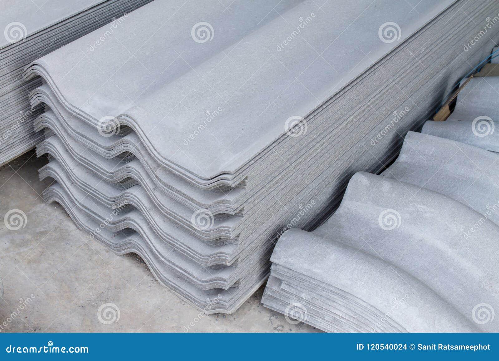 Dachowych płytek azbesta betonu włókna szkotowy cement
