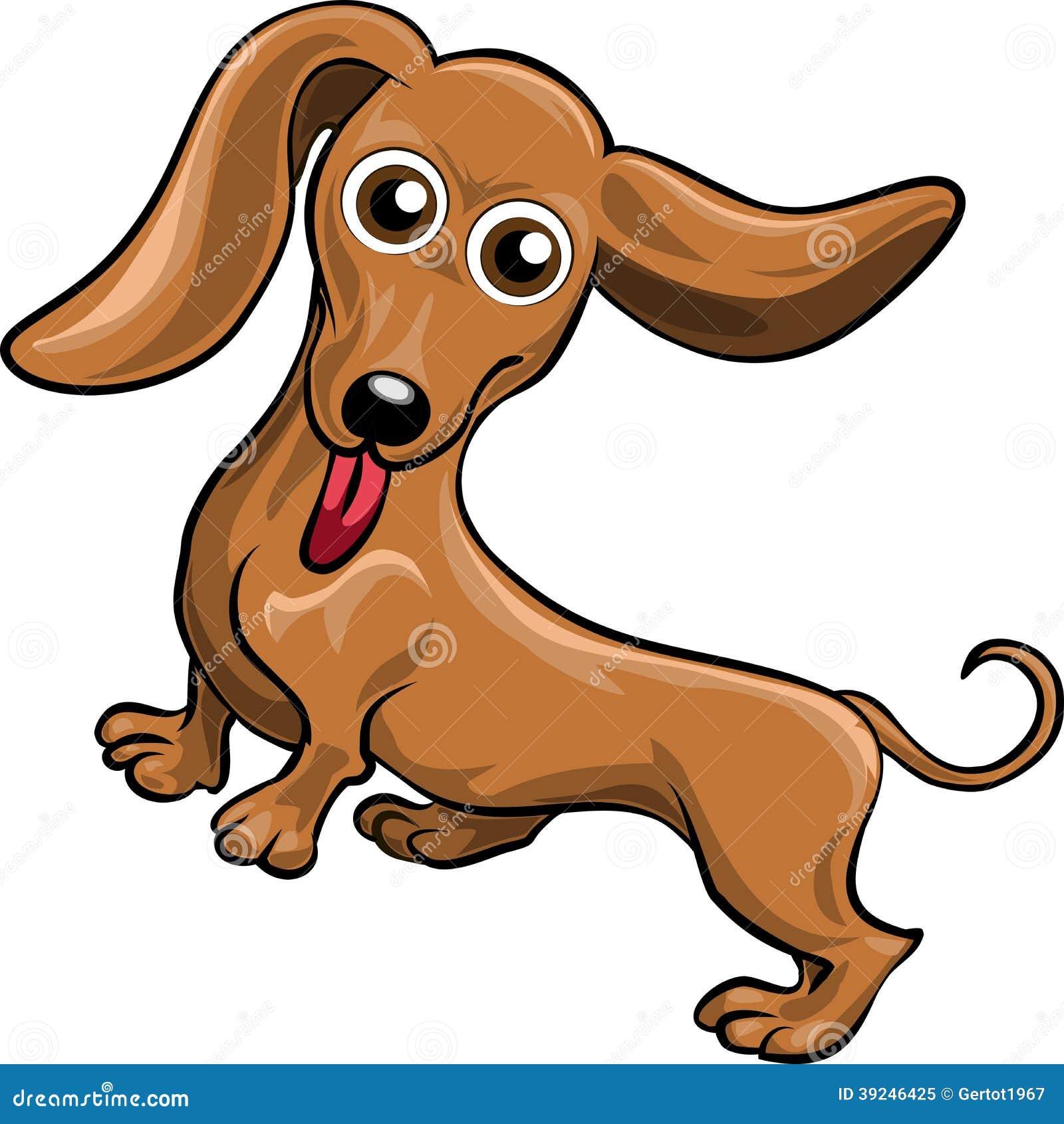 how to draw a weenie dog