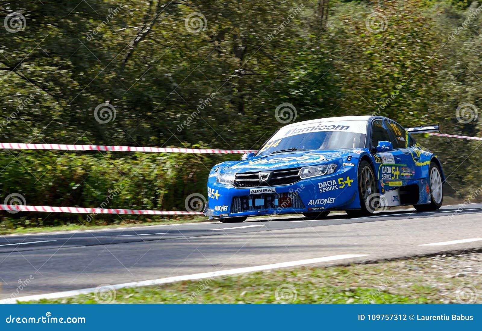 Dacia Logan Tuning Rally Car Editorial Photography - Image