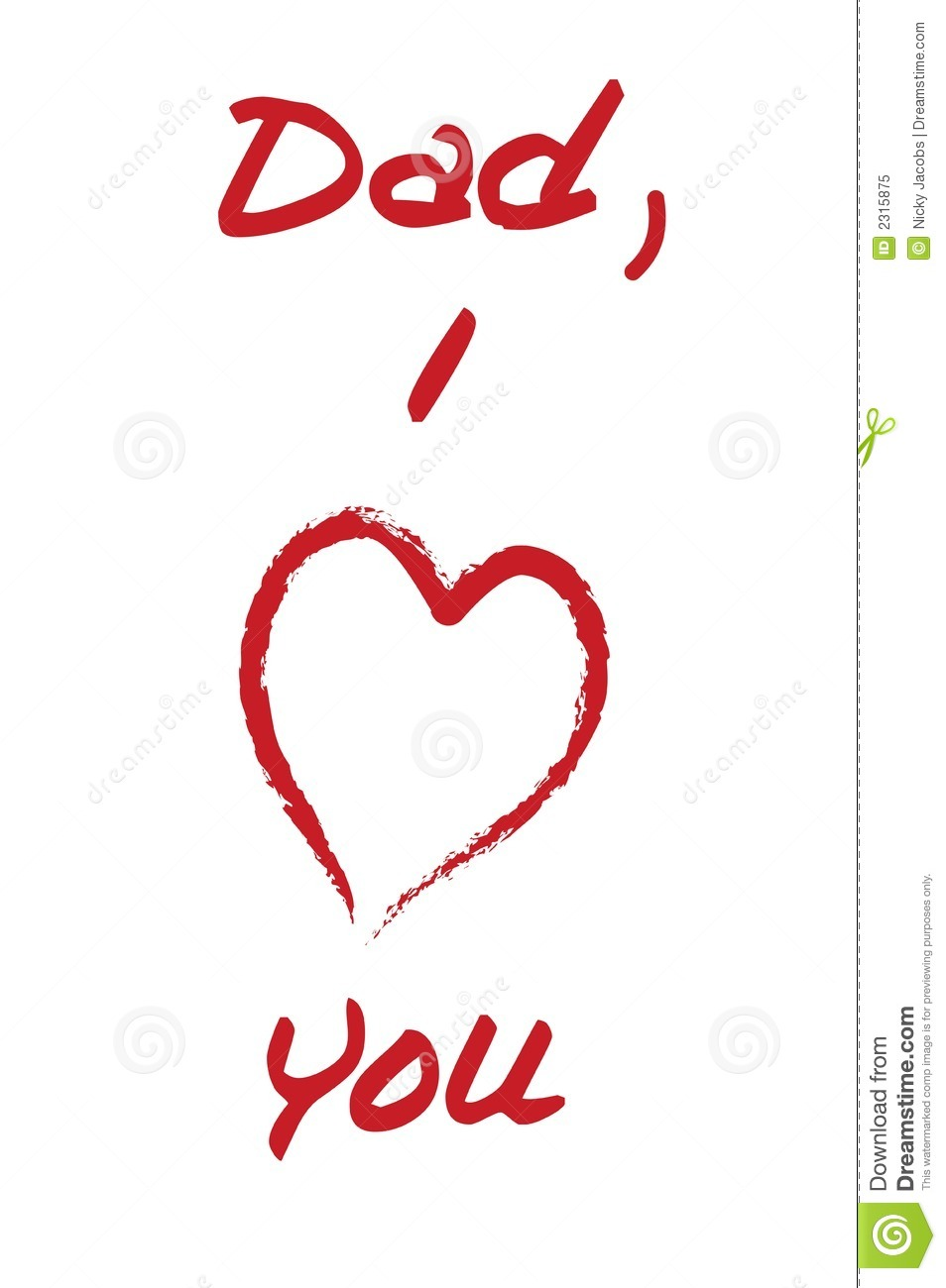 download i love you daddy