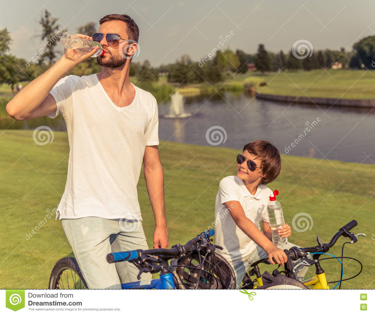 Cycling Drinking Glasses