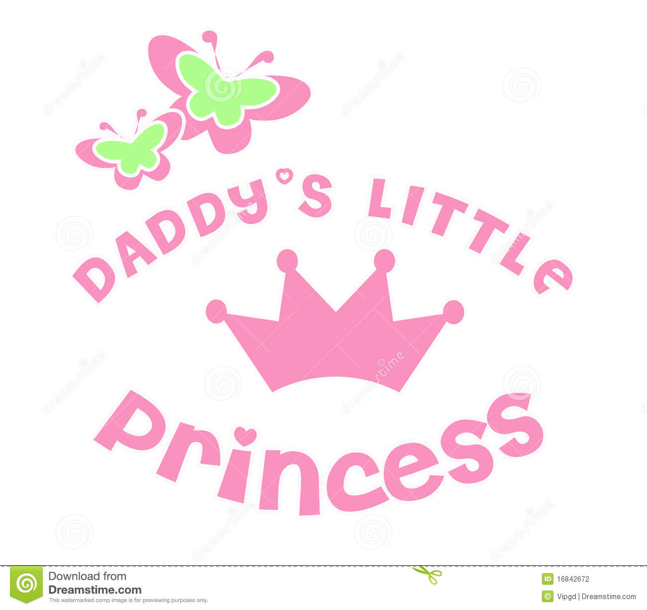 Daddy 39 s little princess stock photography image 16842672 for Small princess