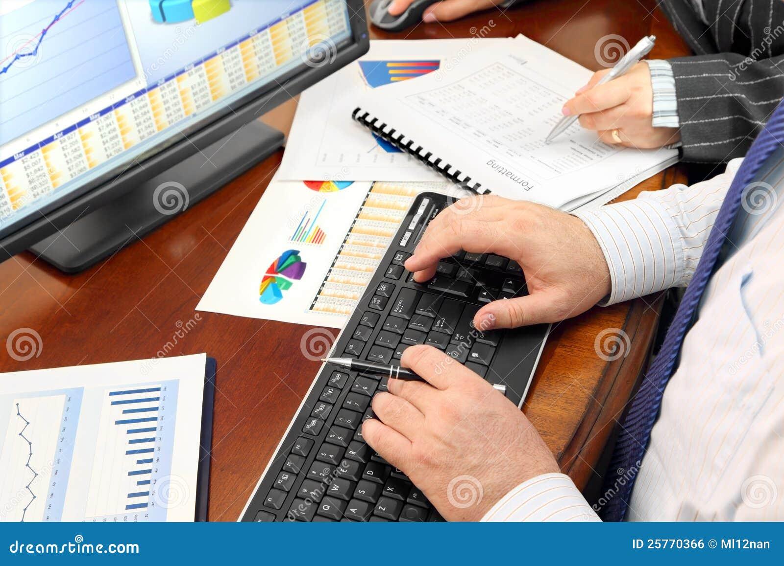 Dados de Analizing no escritório