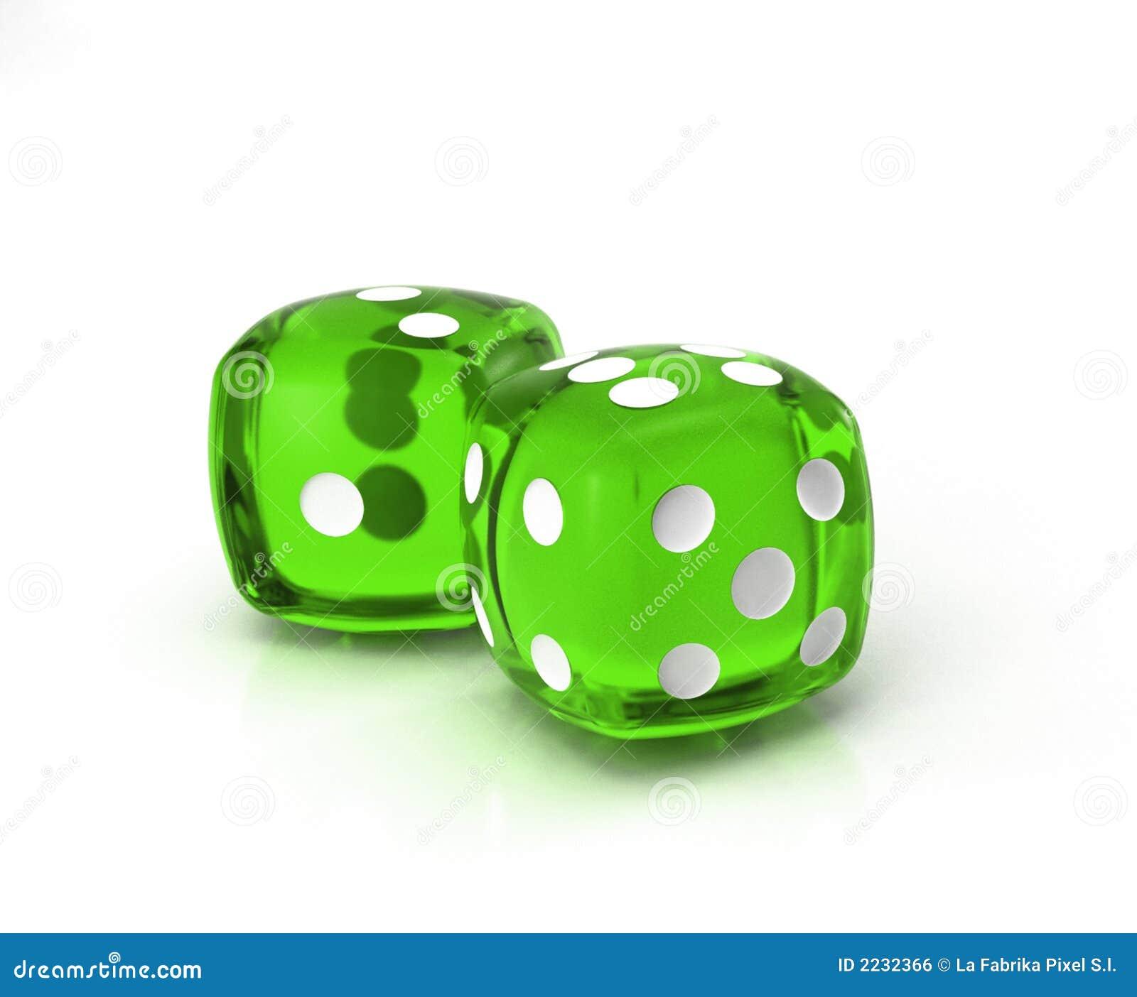 Dados verdes 2