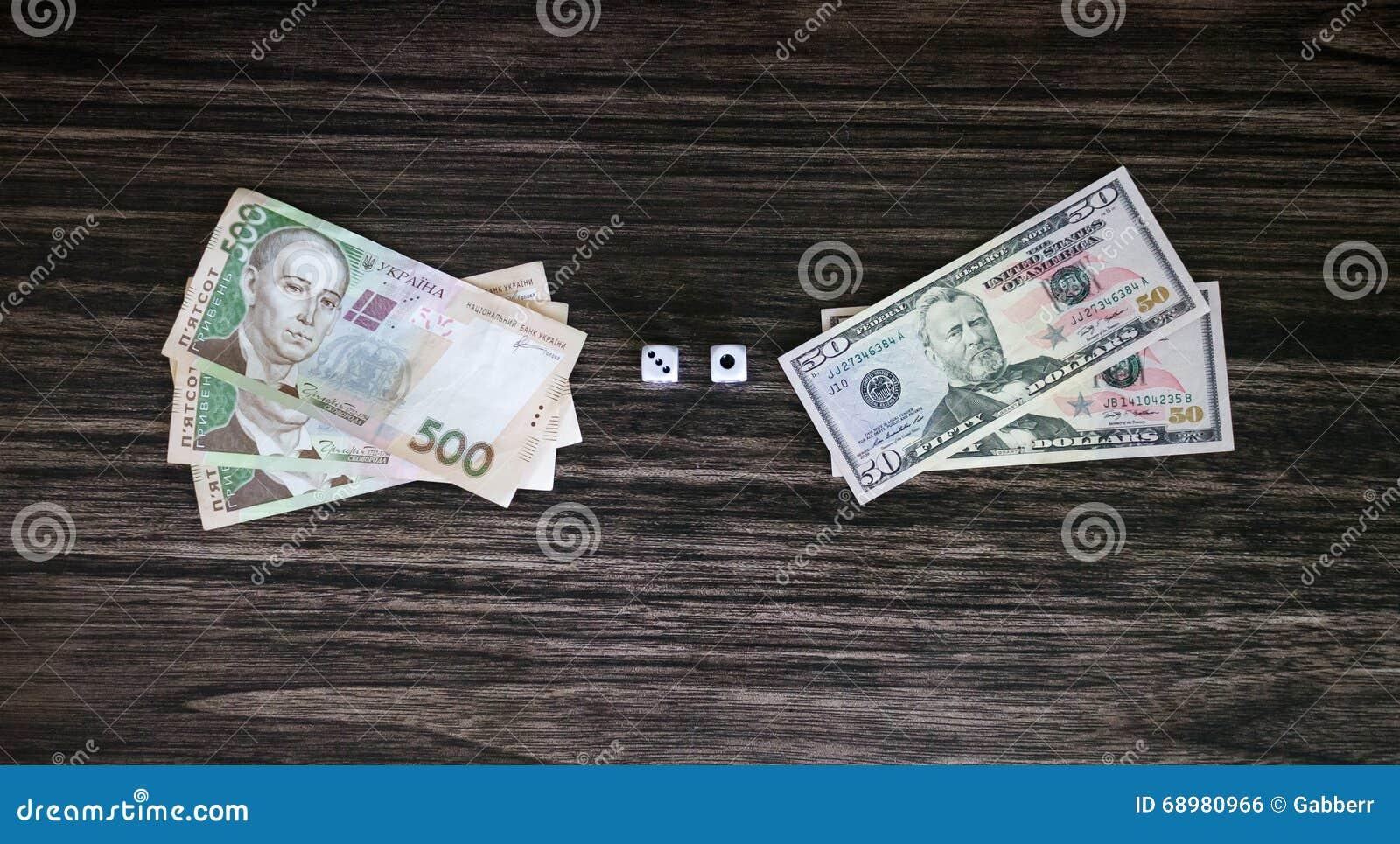 Dados y dinero