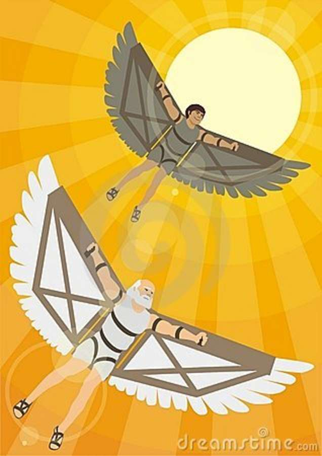 Icarus Coloring Pages