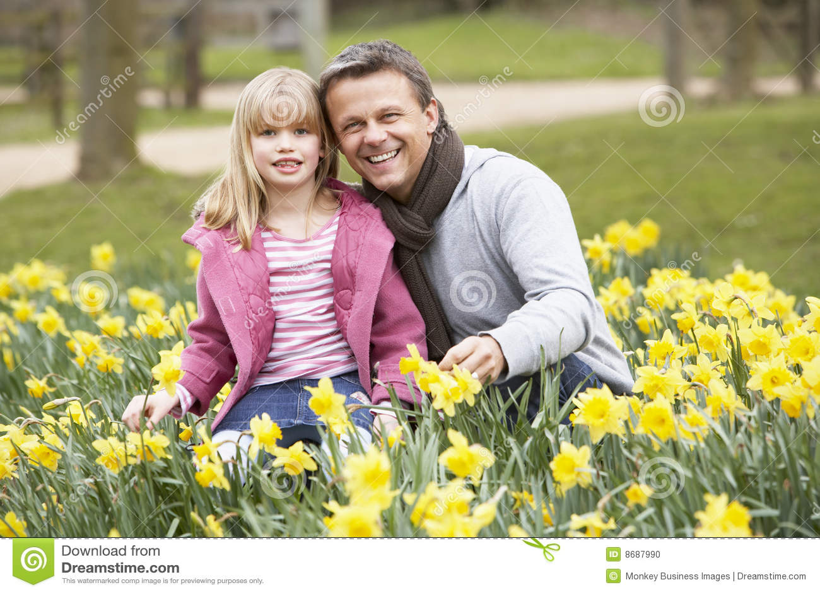 Daffodils córki ojciec