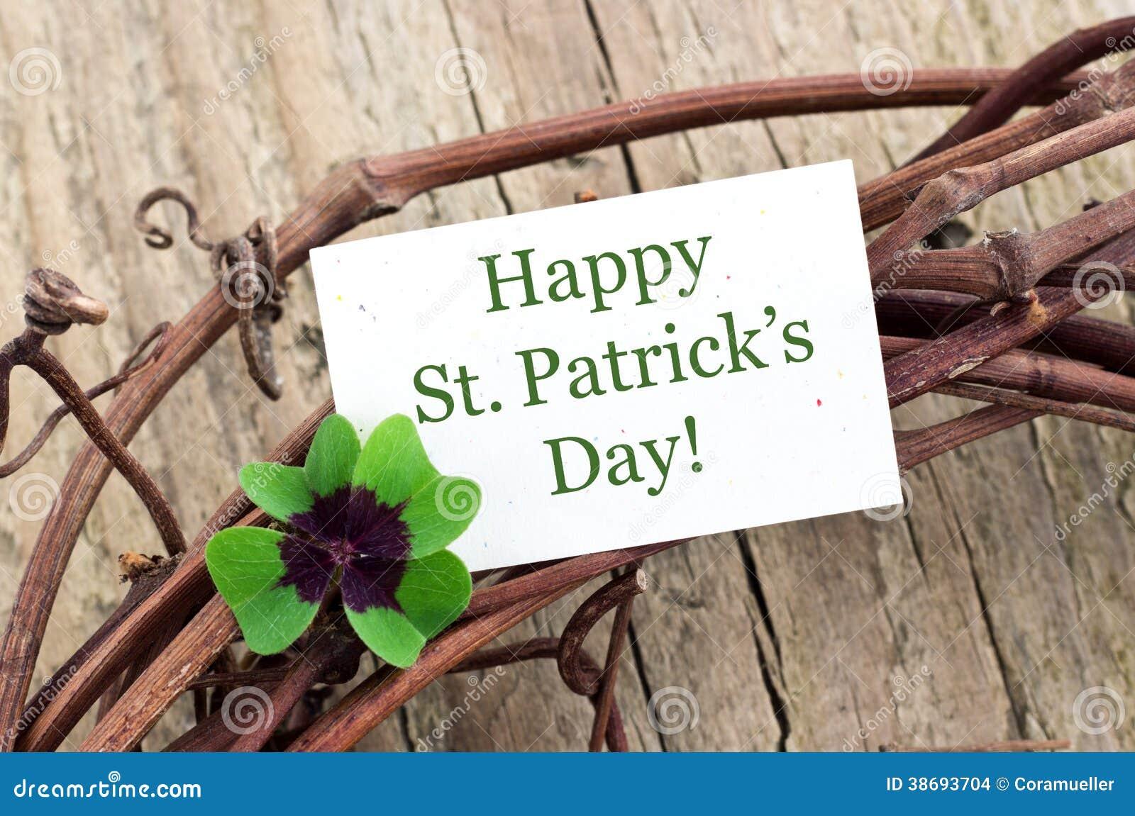 Dag för St Patrick ` s