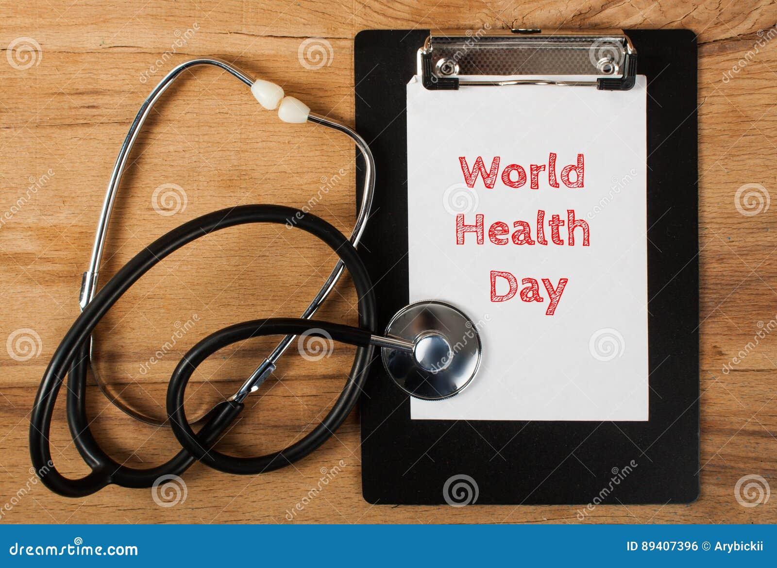 Dag för världshälsa