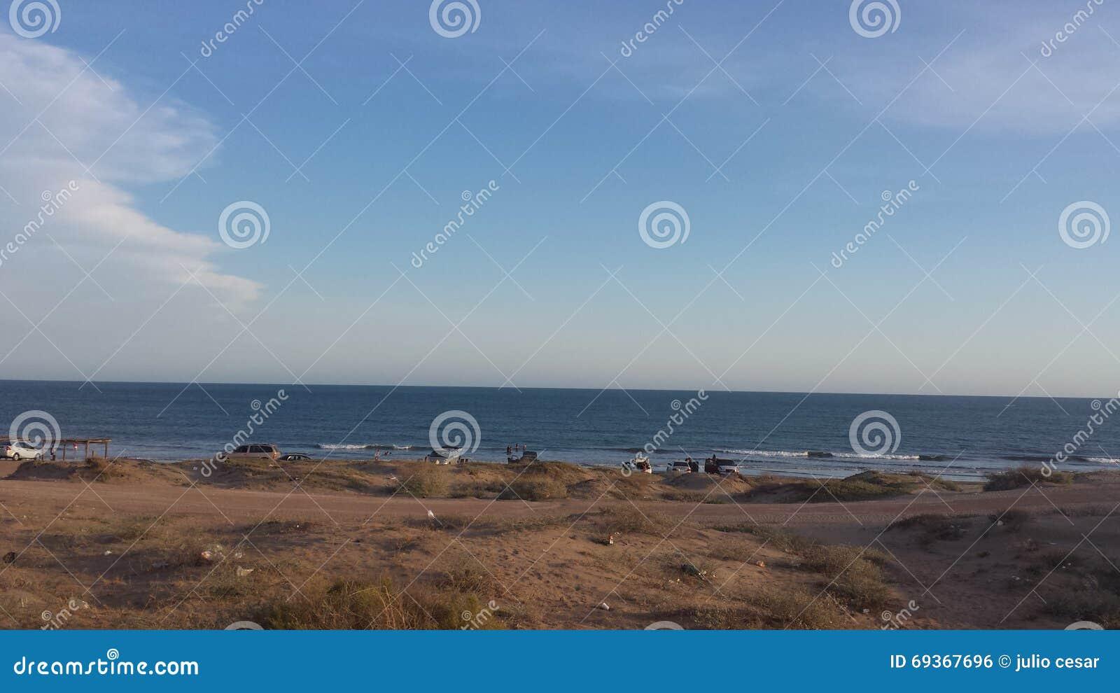Dag in het strand