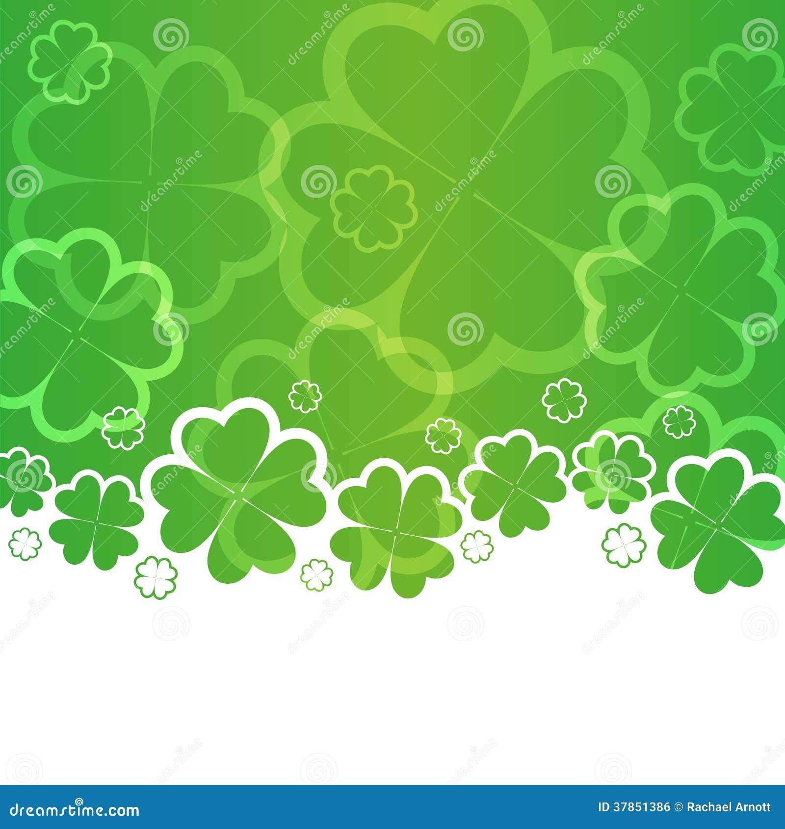 Dagbakgrund för St Patricks