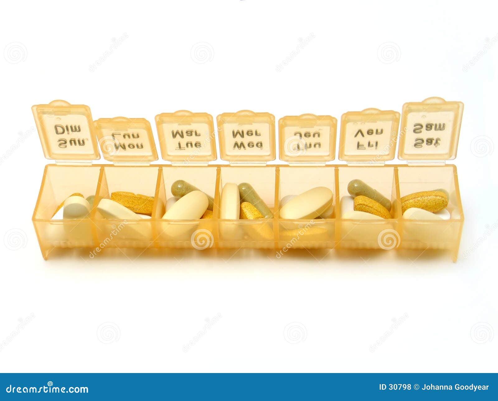 Download Dagelijkse Pillen stock foto. Afbeelding bestaande uit groei - 30798