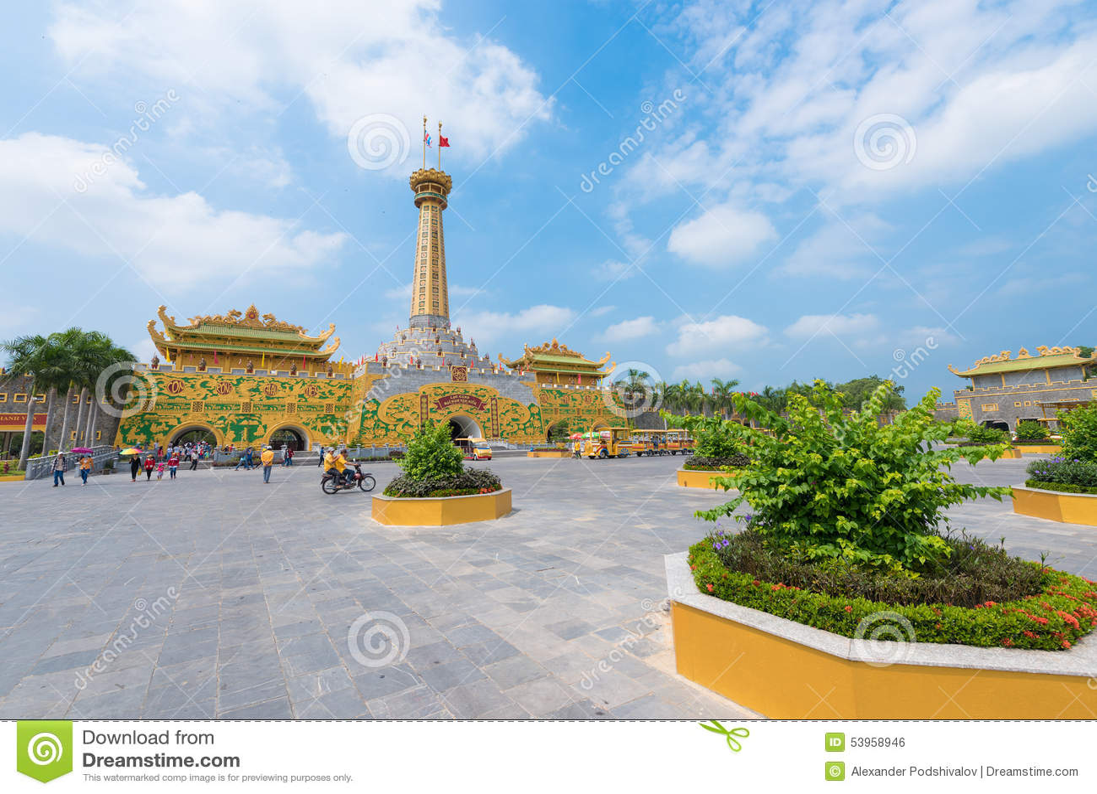 Dai Nam Amusement Park, Hochiminh, Vietnam Editorial Photo