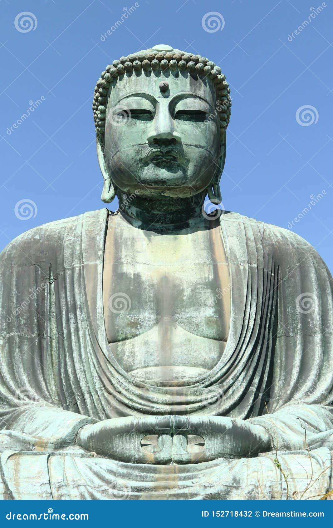 Daibutsu, gran estatua de Buda, Japón