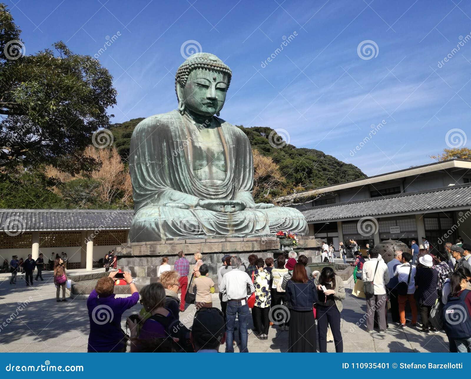 Daibutsu, la grande statue en bronze du grand Bouddha