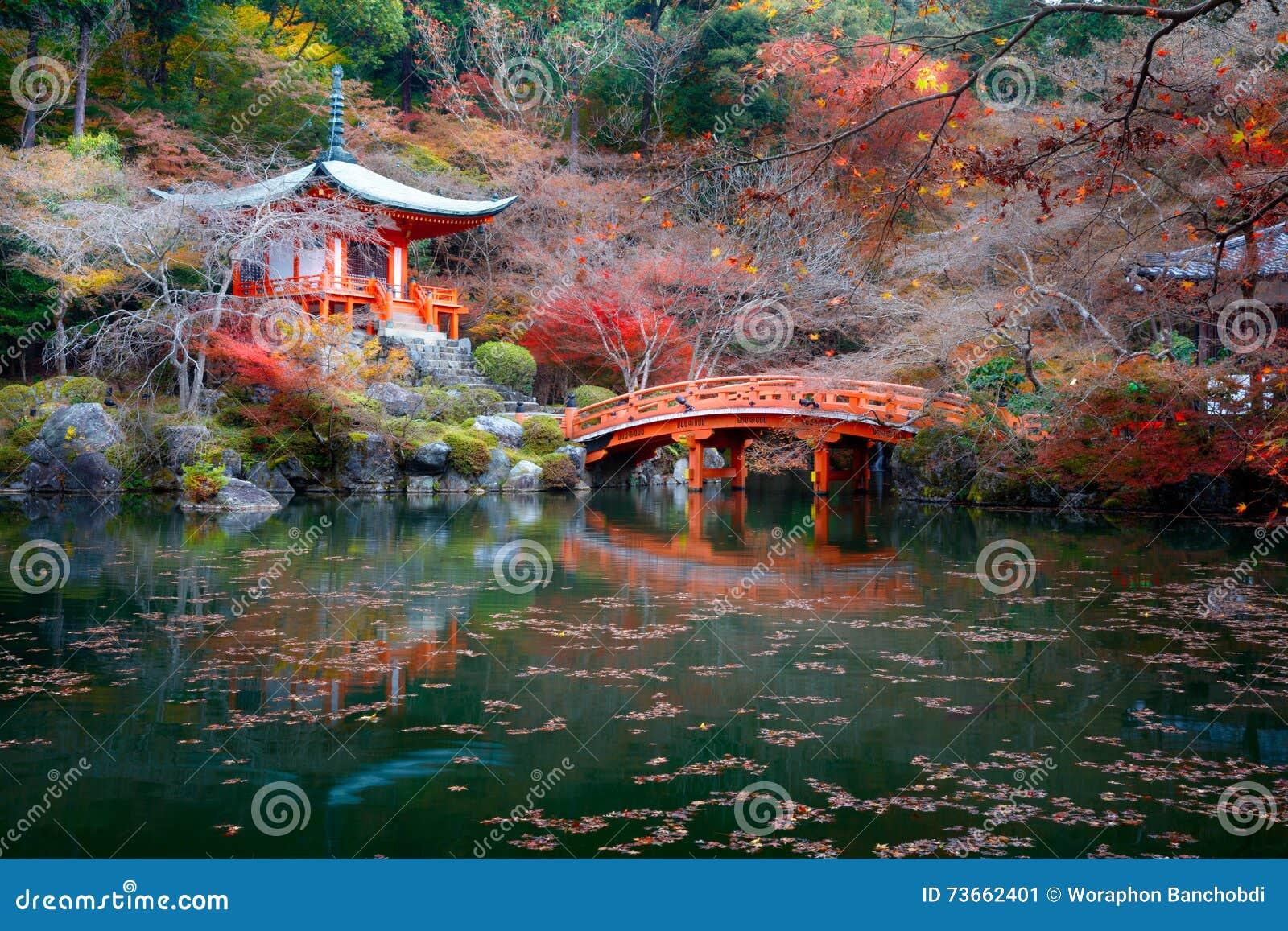Daigoji świątynia, Kyoto Japonia