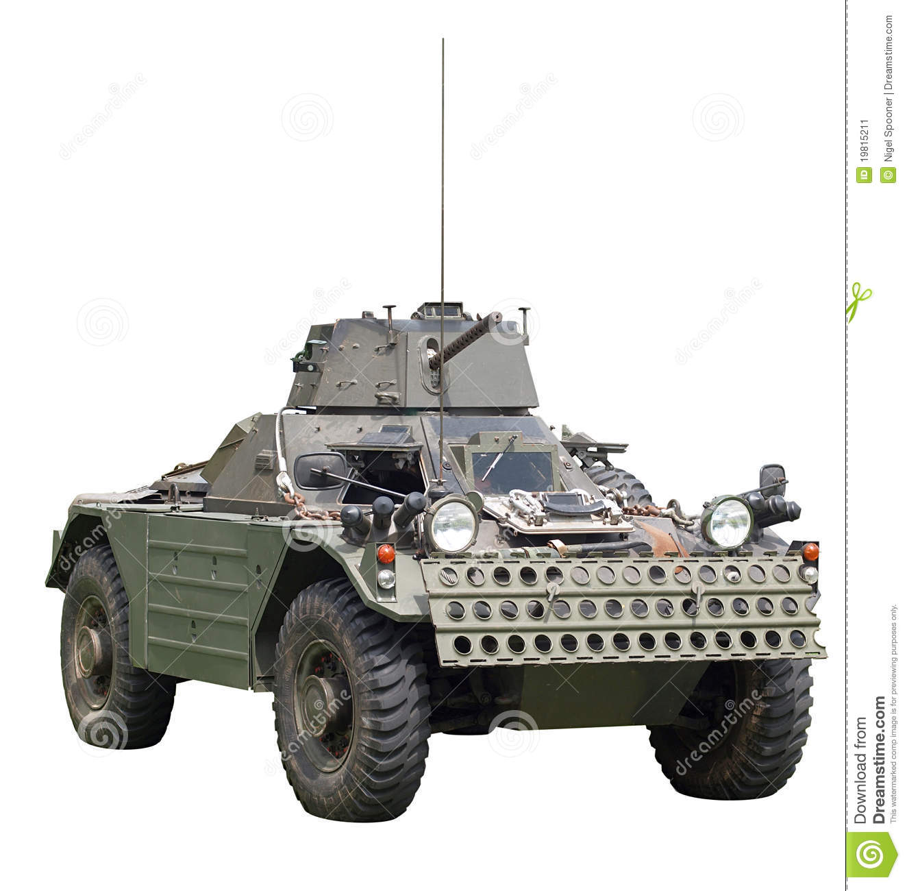 Daimler Ferret Scout Armoured Car Stock Image - Image: 19815211