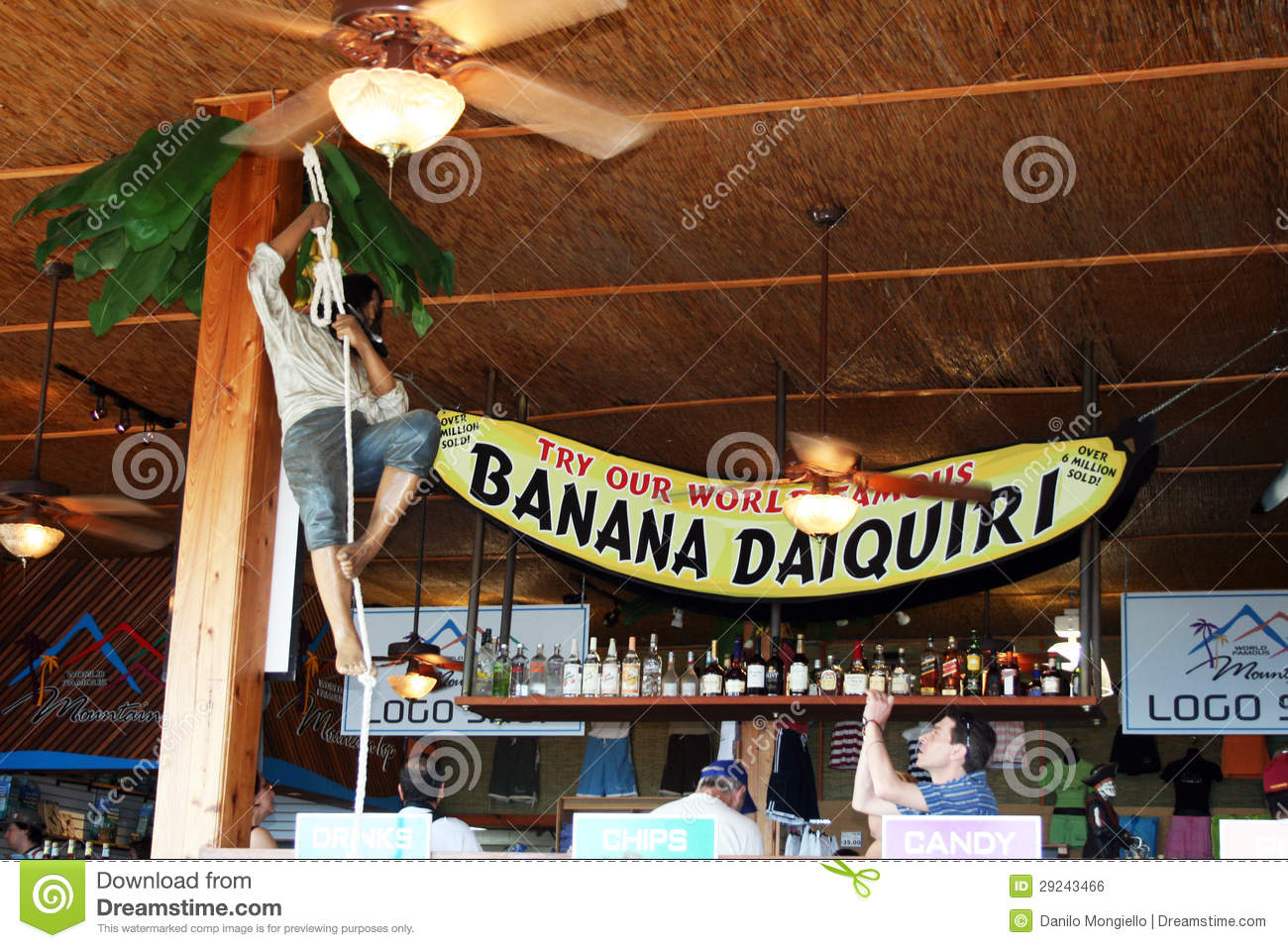 Download Daiquiri da banana foto editorial. Imagem de virgem, desengate - 29243466