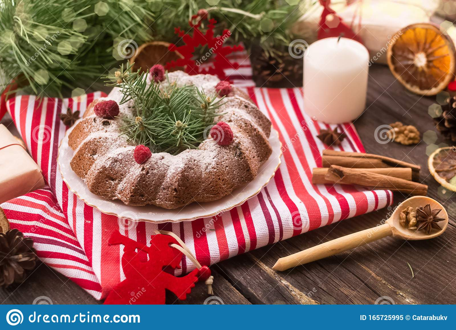 Astonishing Dairy Free Dessert Christmas Cake With Raisins And Raspberries Personalised Birthday Cards Paralily Jamesorg