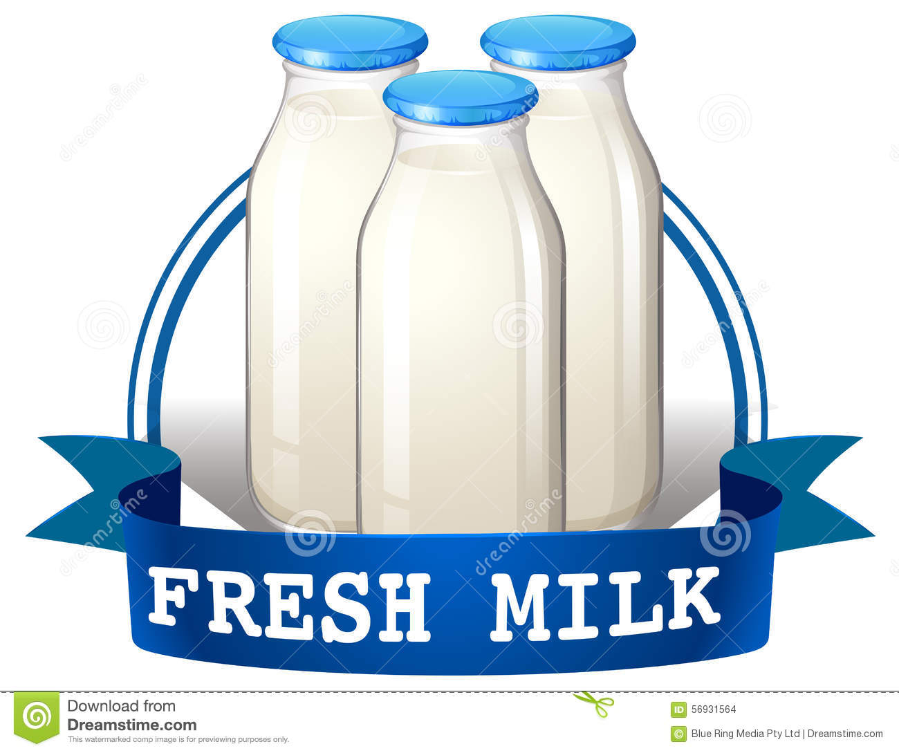Dairy Product stock vector. Illustration of clipart, milk ... (1300 x 1089 Pixel)