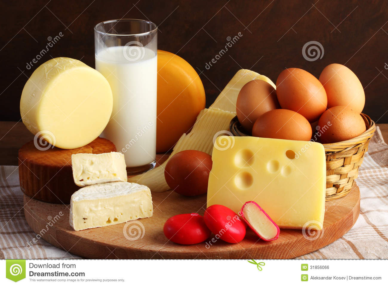 Dairy Products Royalty Free Stock Image - Image: 31856066