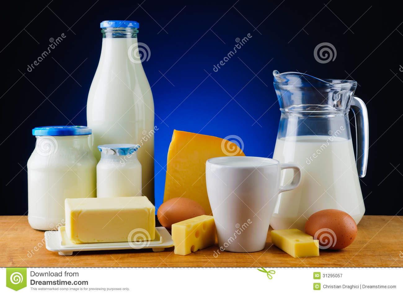 Dairy products stock image. Image of dairy, still, diet ...