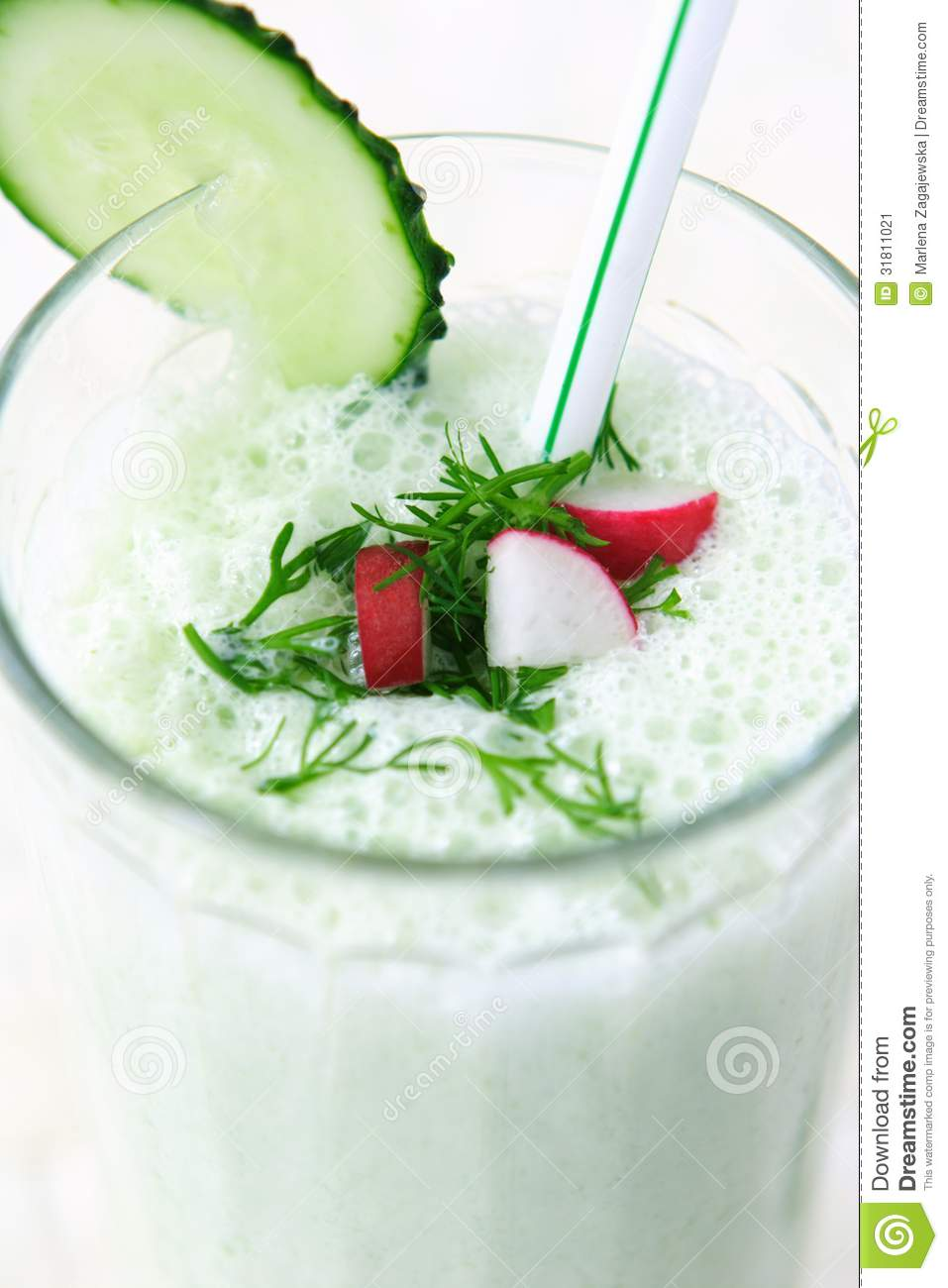 Dairy vegetable cocktail