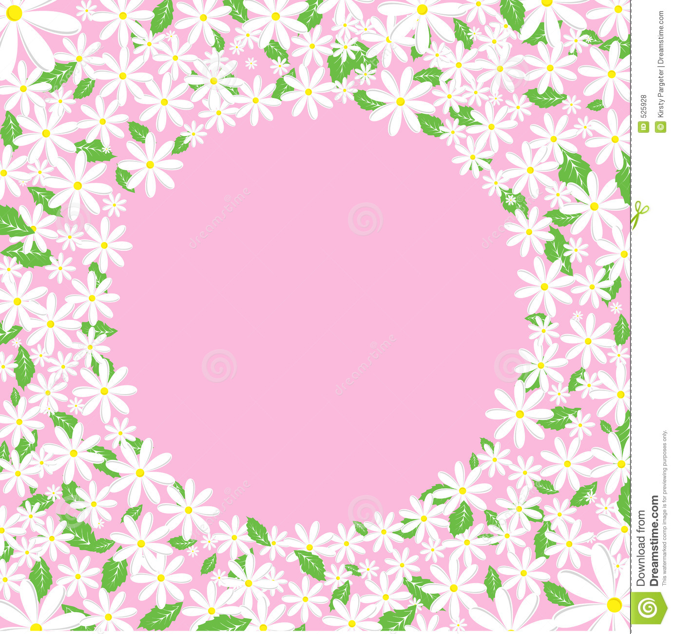 Clipart Daisy Border All About Clipart