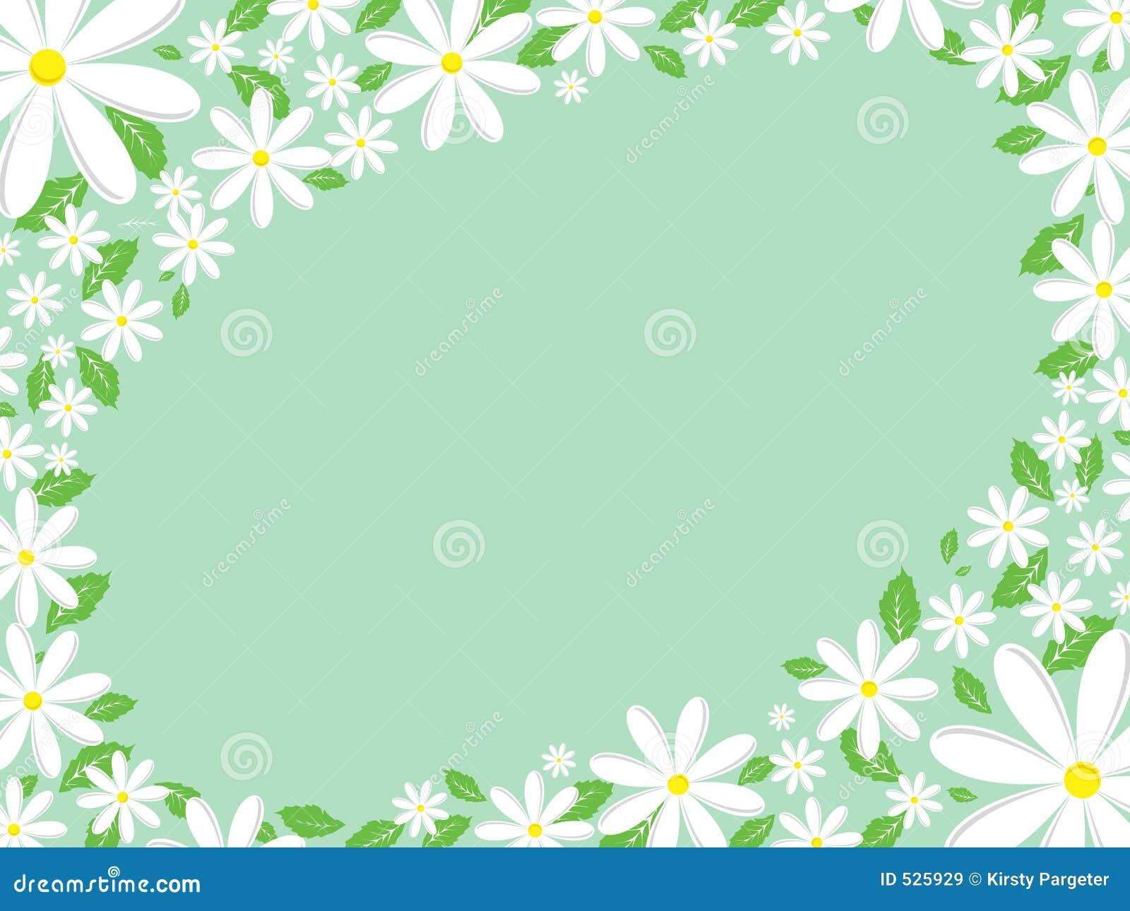 Daisy border stock vector illustration of leaf nature 525929 daisy border izmirmasajfo