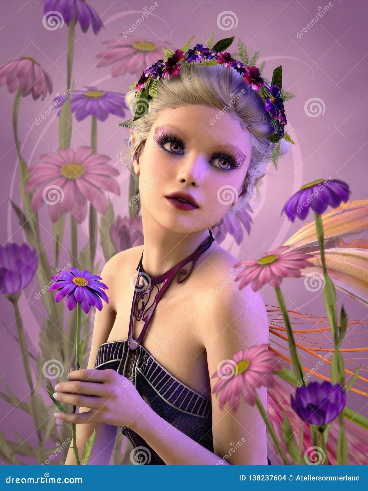 Daisy Fairy, 3d CG