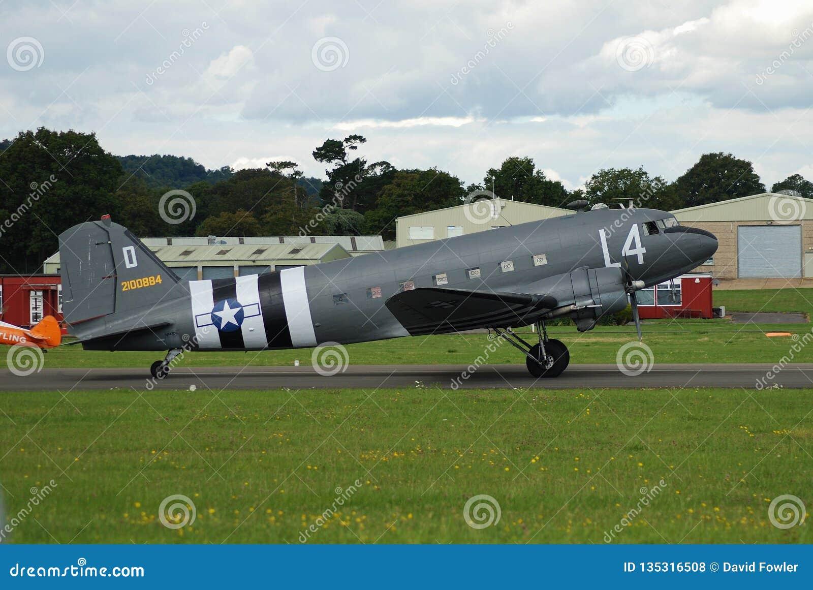 Dakota C47A samolot