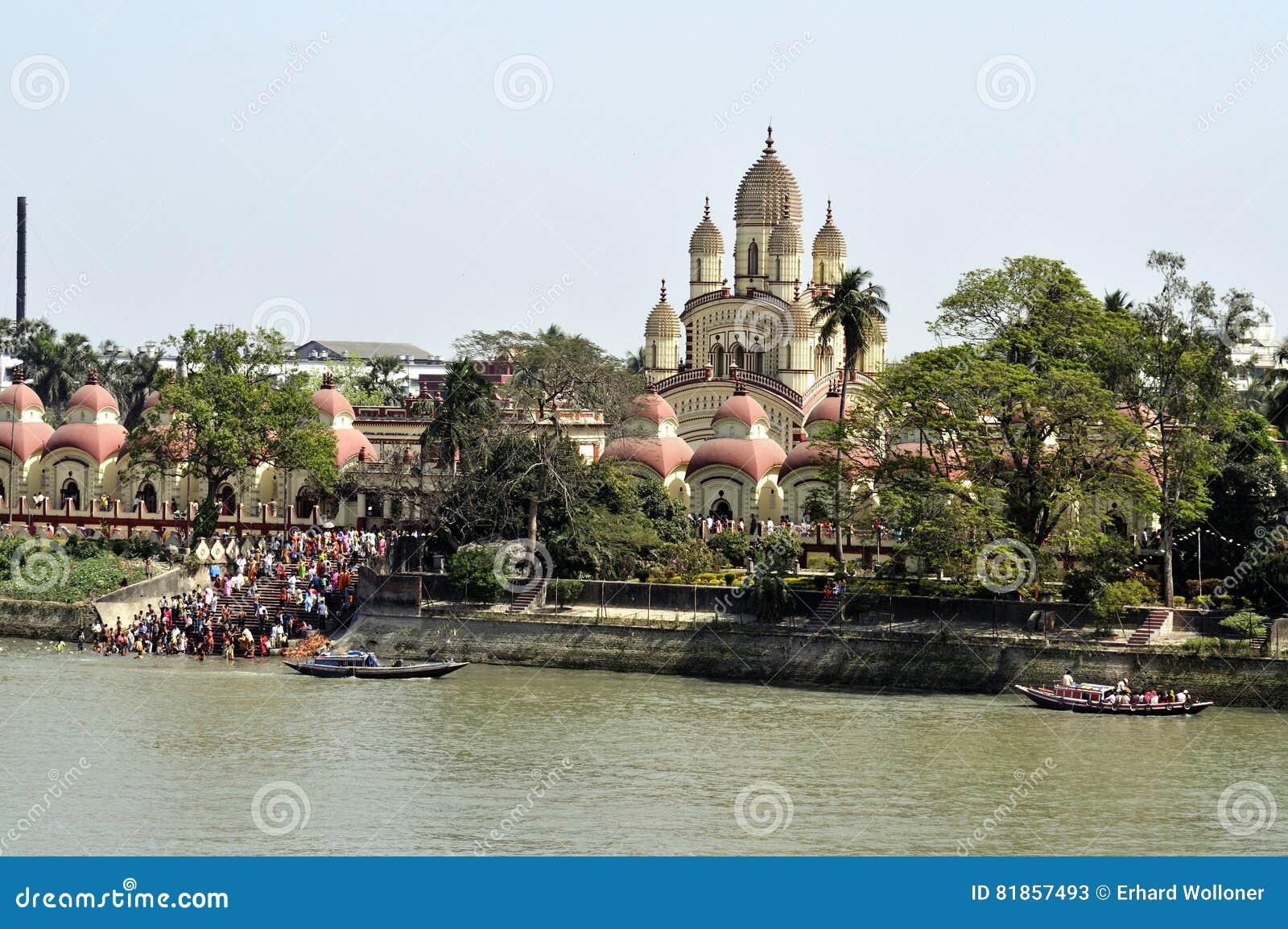 Dakshineswar卡利市寺庙,加尔各答,印度