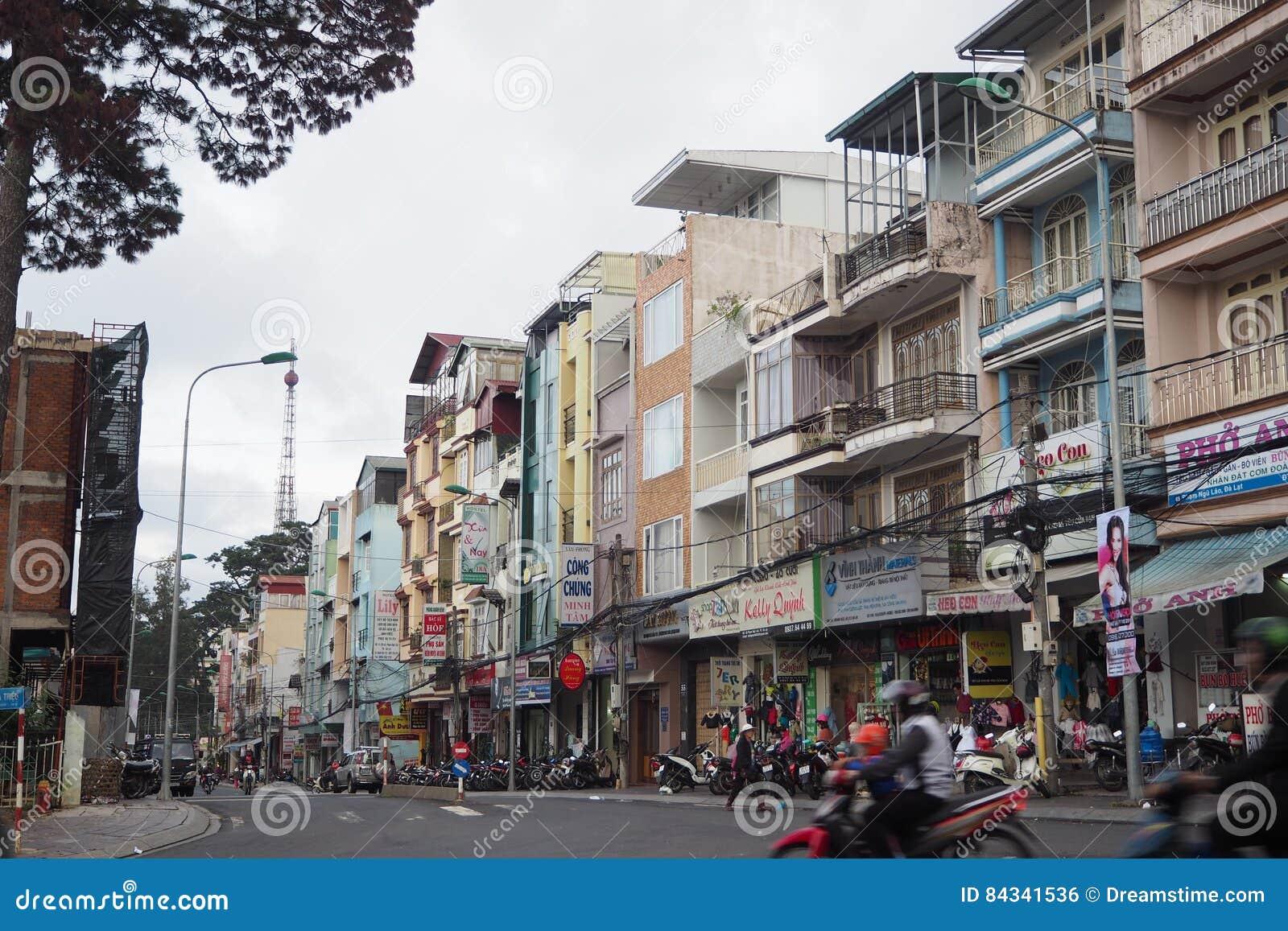 Dalat-Stadt scape