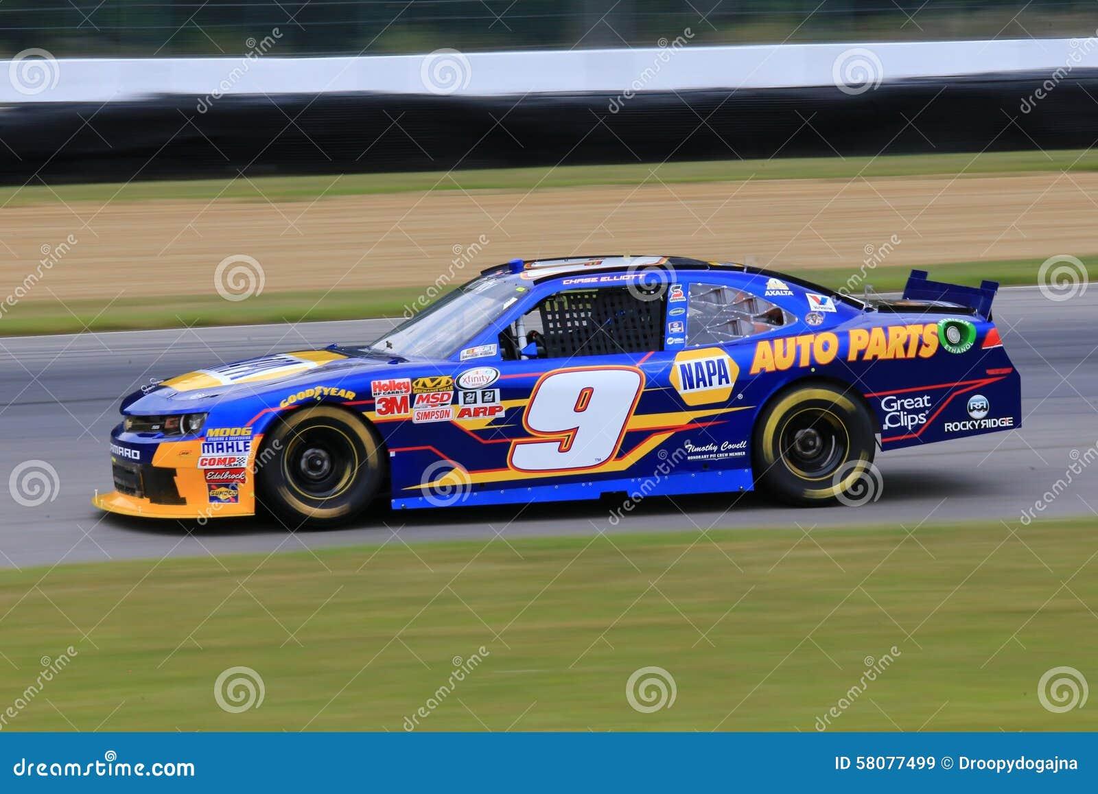 Who Drives The Napa Race Car