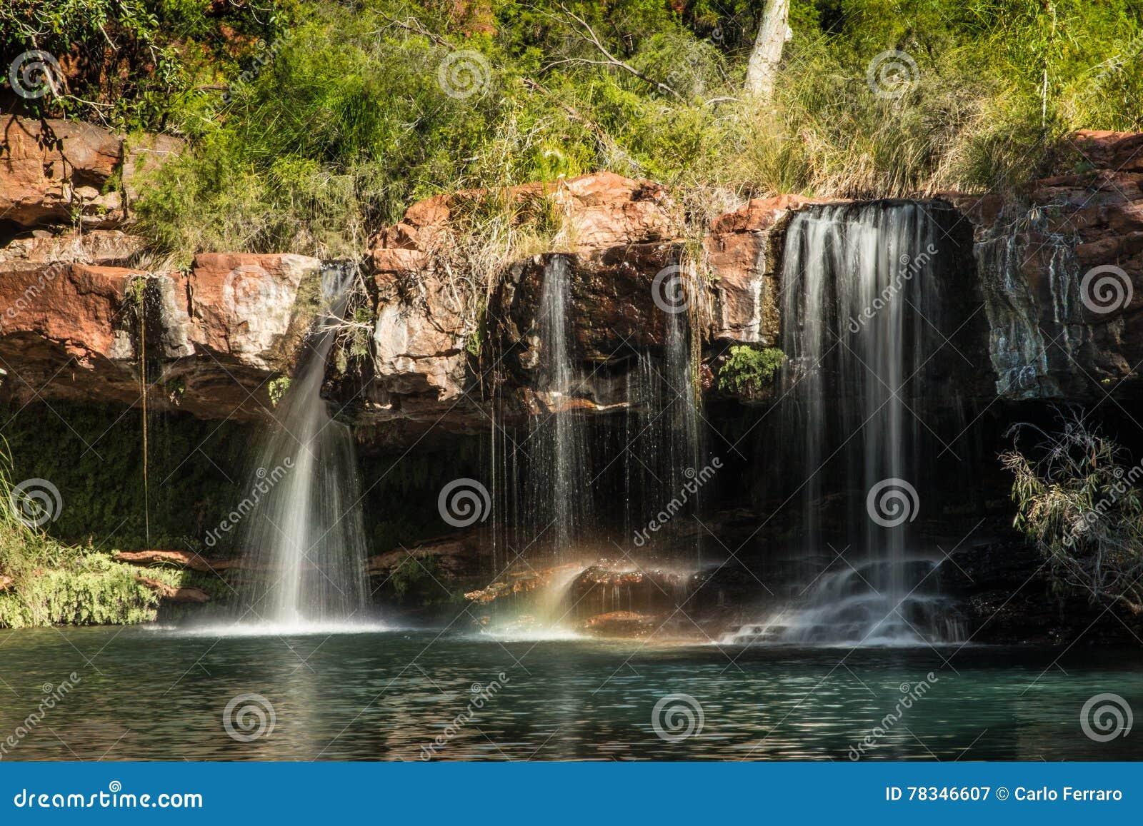 Dales Gorge, falls, Karijini National Park