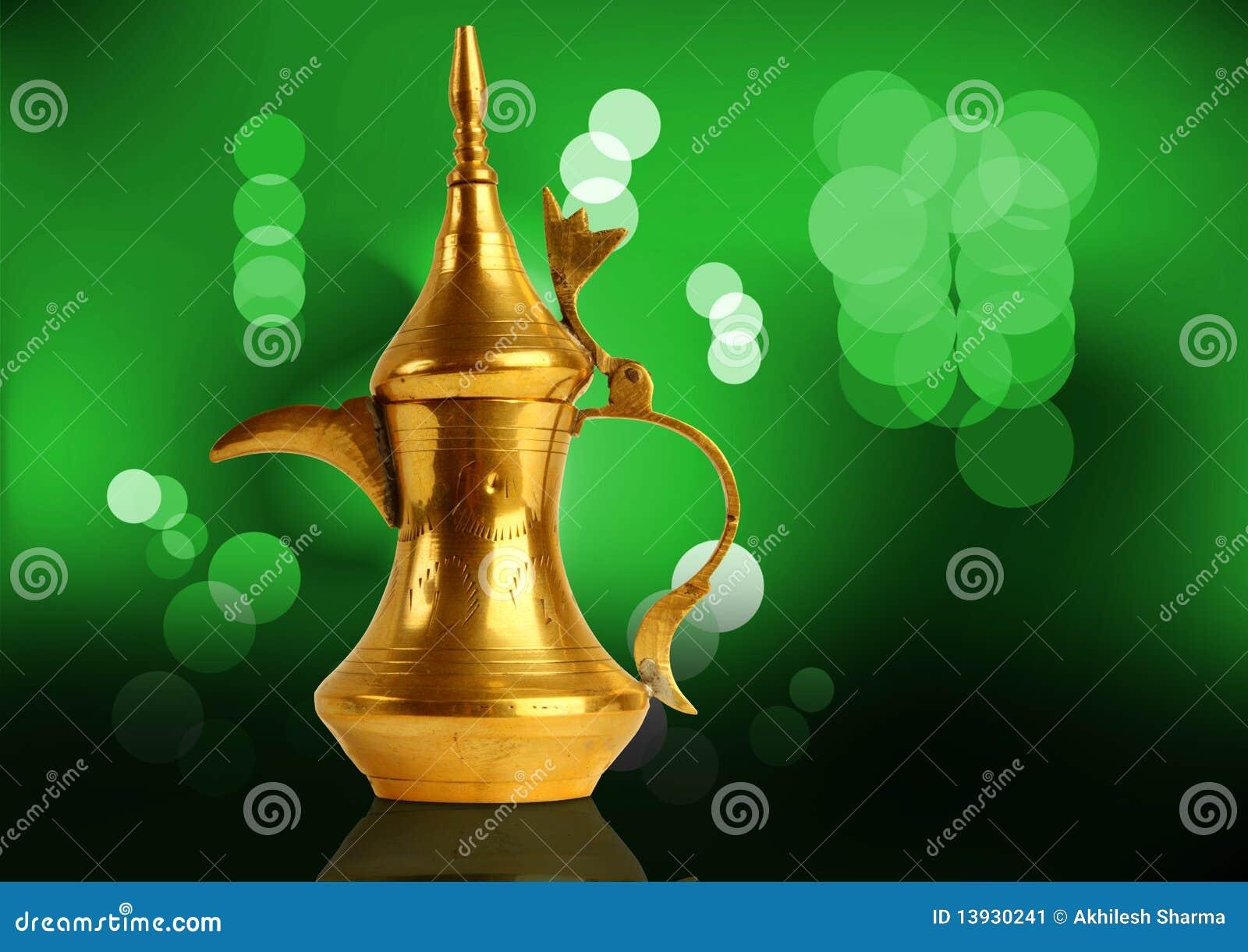 Dallah - o potenciômetro árabe tradicional do café