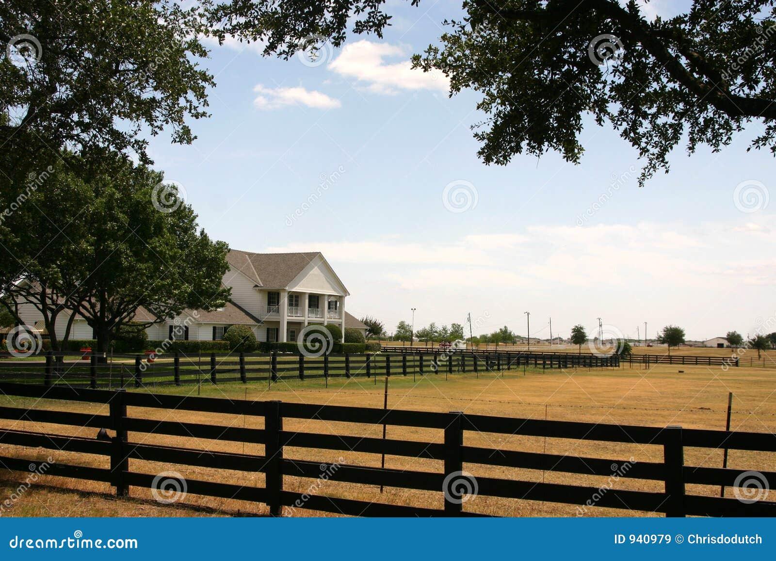 Dallas около southfork ранчо