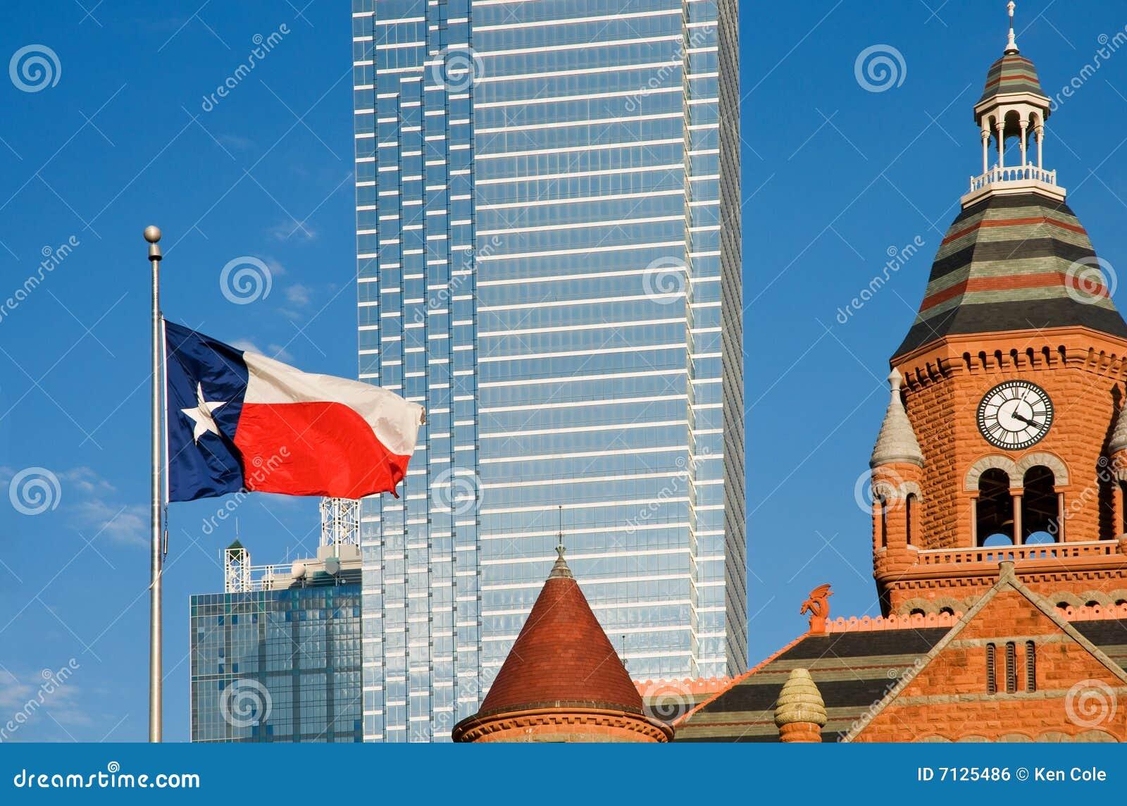 Dallas chorągwiany muzealny Texas