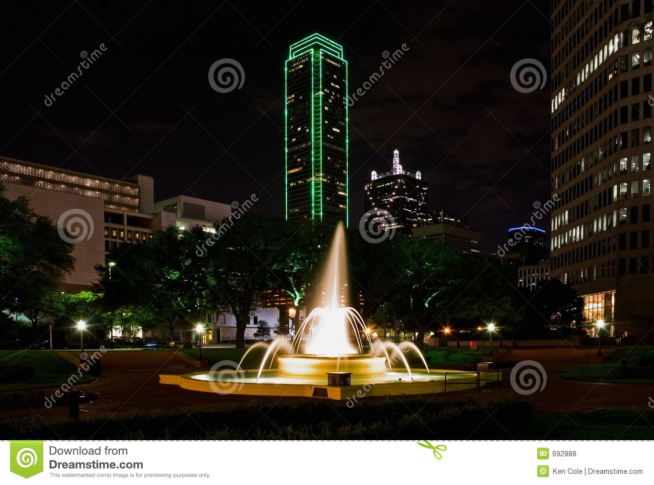 Dallas la nuit