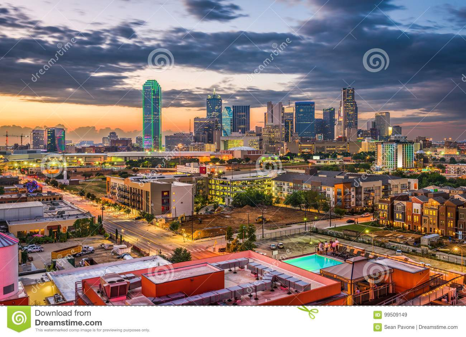 Dallas, le Texas, Etats-Unis