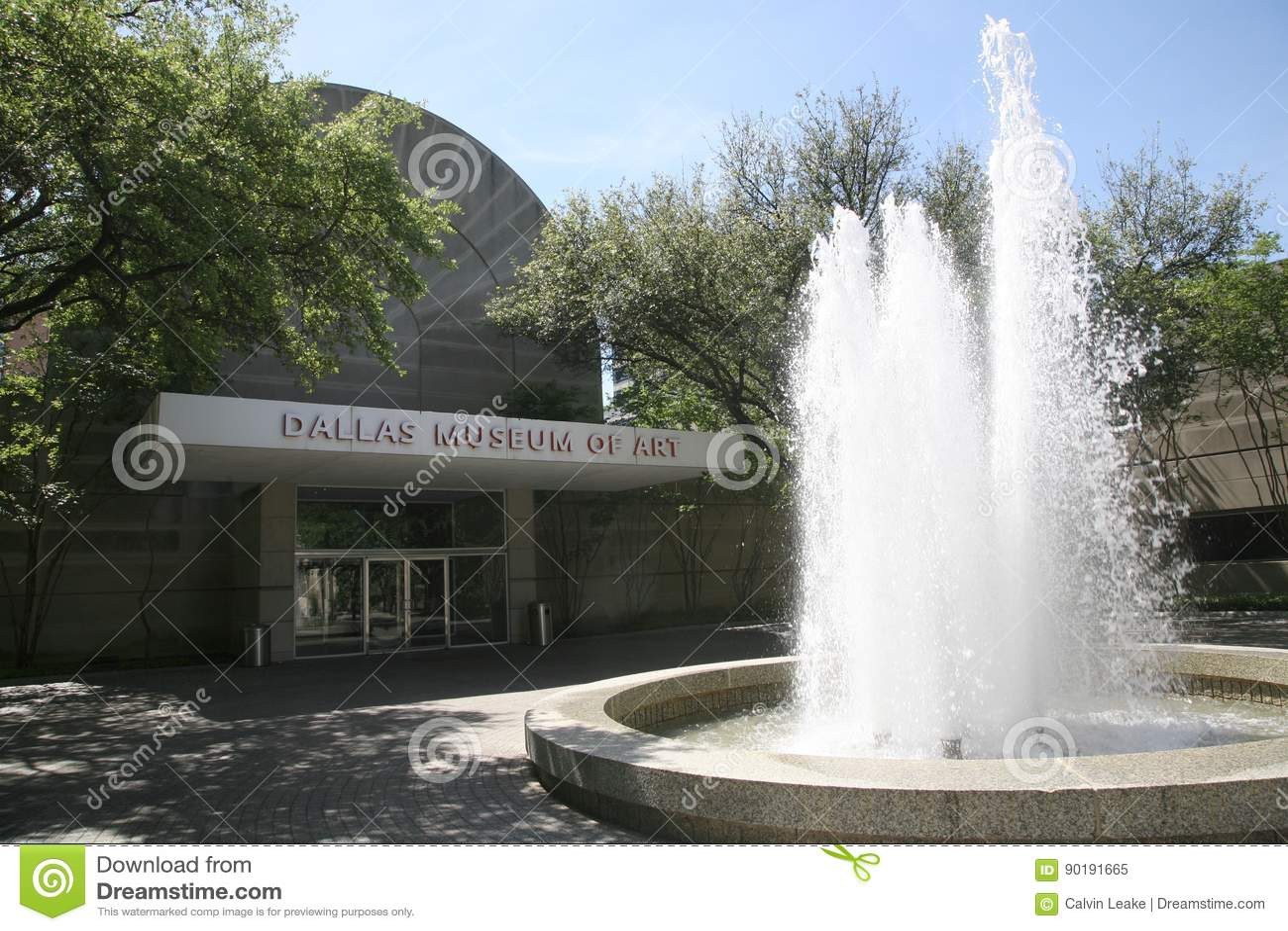 Dallas Museum d Art Courtyard
