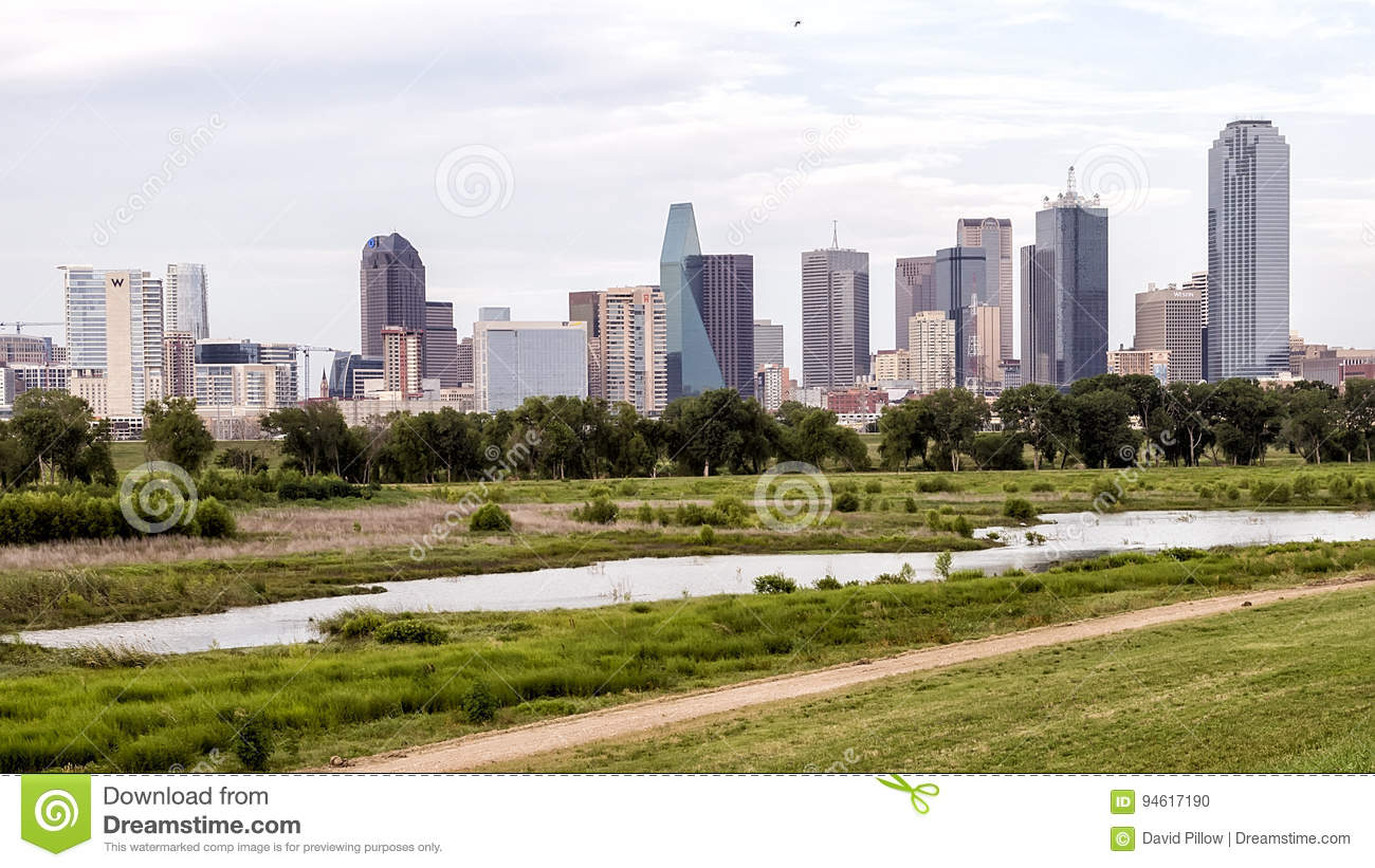 Dallas Skyline from the West